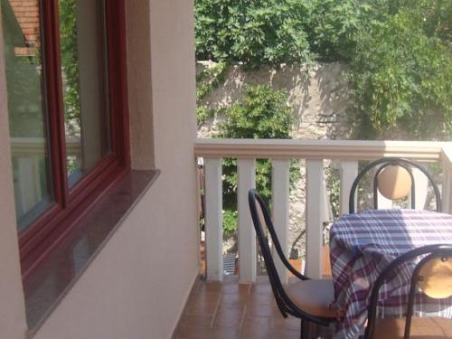 Studio mit einer Terrasse